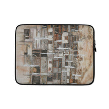Load image into Gallery viewer, White Prayer Flags LAPTOP SLEEVE