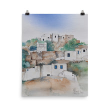 Load image into Gallery viewer, Dovecote on Sifnos POSTER