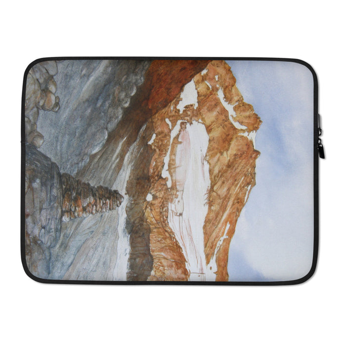 The Moiry Glacier and Cairn LAPTOP SLEEVE