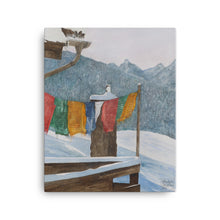 Load image into Gallery viewer, Painting of Prayer Flags