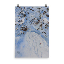 Load image into Gallery viewer, Painting of the Freeride world Tour