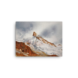 Painting of the Zinalrothorn