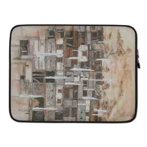 White Prayer Flags LAPTOP SLEEVE