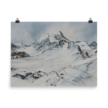 Load image into Gallery viewer, Painting of the Bisshorn and Weisshorn