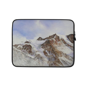 The Moiry Glacier and the Pointes de Mourti LAPTOP SLEEVE
