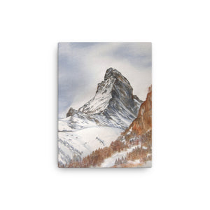 Painting of the Matterhorn