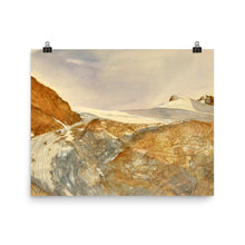 Load image into Gallery viewer, Painting of the Moiry Glacier