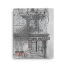 Load image into Gallery viewer, Drawing of Bhaktapur