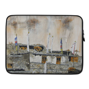 Clinging to the cliff face LAPTOP SLEEVE
