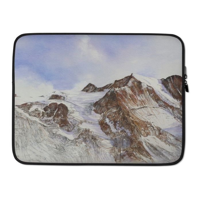 The Moiry Glacier and the Pointes de Mourtie LAPTOP SLEEVE