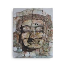 Load image into Gallery viewer, Smiling Stone Face CANVAS