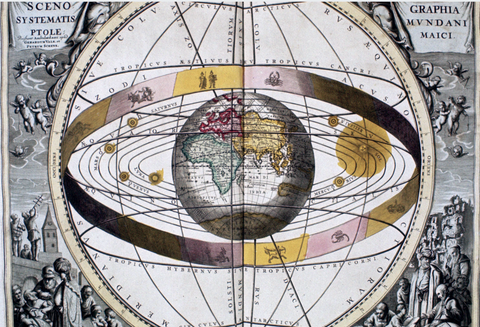 Ptolemy developed a geo-centric astronomical model