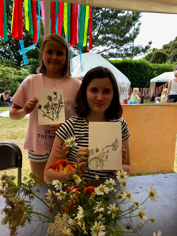 Children's Botanical Drawing. 19th October