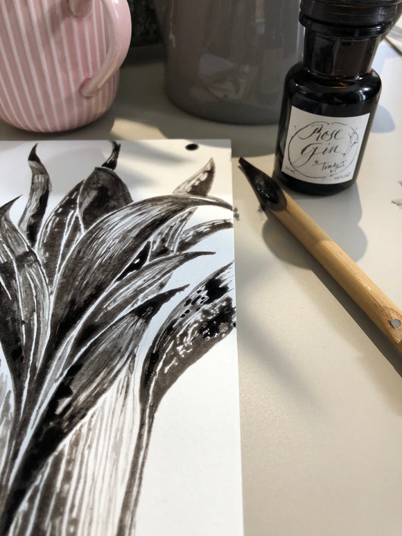 Botanical Ink. 29th January