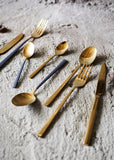 Gold Cutlery set of 4