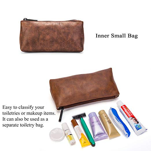 2d3b80965161 Leather Toiletry Bag