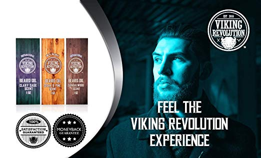Beard Oil Conditioner 3 Pack - All Natural Variety Gift Set - SGTSHARP.COM