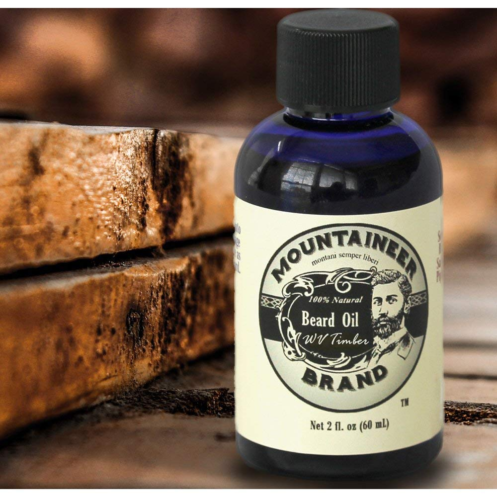 Beard Oil - WV Timber, Scented with Cedarwood and Fir Needle, Conditioning Oil, 2 oz bottle - SGTSHARP.COM
