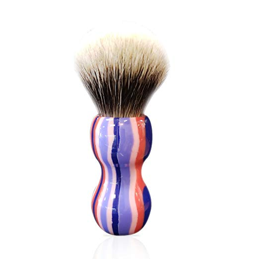 Purple Haze - Synthetic Shaving Brush - SGTSHARP.COM