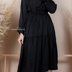 VIOLITA TUNIC IN BLACK