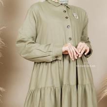 Load image into Gallery viewer, KELLY TUNIC IN ARMY