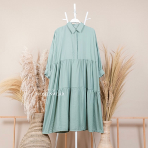 VIOLITA TUNIC IN MINT