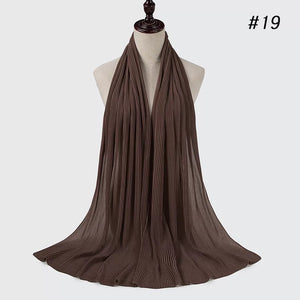 THE PREMIUM PLEATS IN DARK BROWN