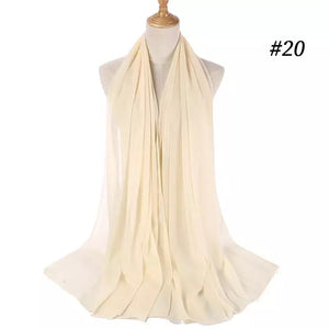 THE BASIC CHIFFON IN IVORY