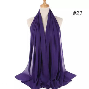 THE BASIC CHIFFON IN PURPLE