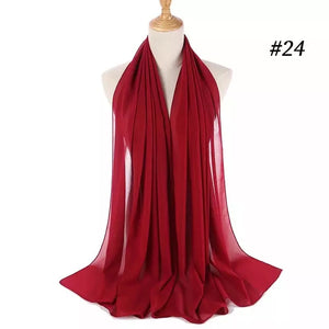 THE BASIC CHIFFON IN WINE