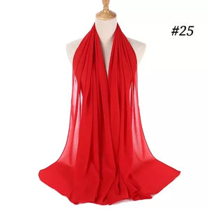 THE BASIC CHIFFON IN RED