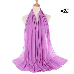 THE BASIC CHIFFON IN LIGHT PURPLE