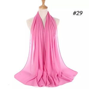 THE BASIC CHIFFON IN LIGHT ROSE
