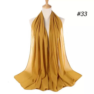 THE BASIC CHIFFON IN GINGER