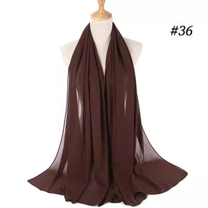 THE BASIC CHIFFON IN COFFEE
