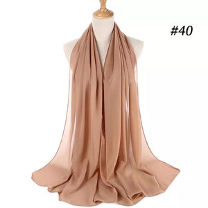 THE BASIC CHIFFON IN BEIGE