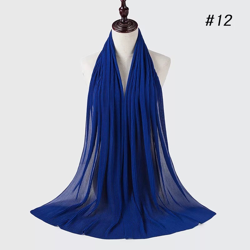 THE PREMIUM PLEATS IN ROYAL BLUE