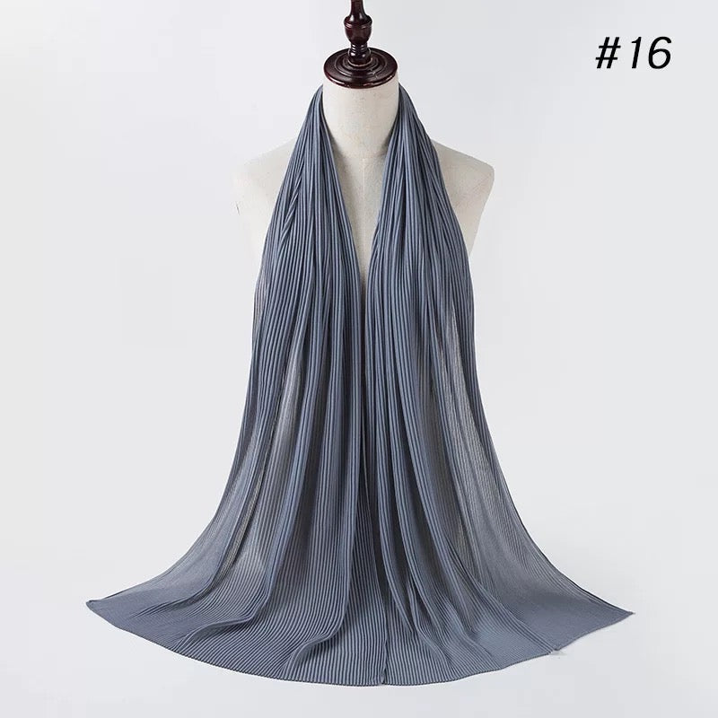 THE PREMIUM PLEATS IN WATERFALL BLUE