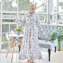 Load image into Gallery viewer, VALENSIA DRESS IN SOFT WHITE