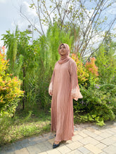 Load image into Gallery viewer, ILAINA ABAYA - DUSTY PINK