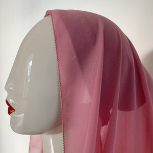 PREMIUM CHIFFON IN ROSE