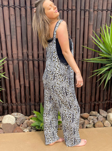 Brooklyn Overalls - Rayon - bambu road - linen clothing - comfortable chic - lifestyle collection - australian resort wear - australian brand clothing - coastal fashion