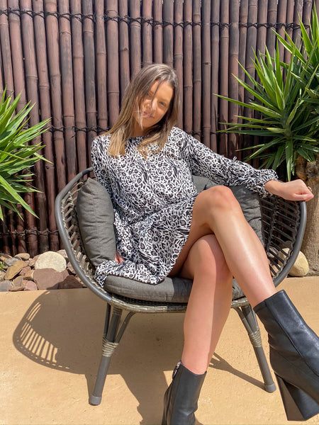 Charlie Dress - Rayon - bambu road - linen clothing - comfortable chic - lifestyle collection - australian resort wear - australian brand clothing - coastal fashion