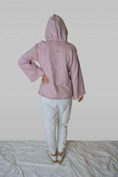 NALA HOODIE - ORGANIC COTTON - bambu road - linen clothing - comfortable chic - lifestyle collection - australian resort wear - australian brand clothing - coastal fashion