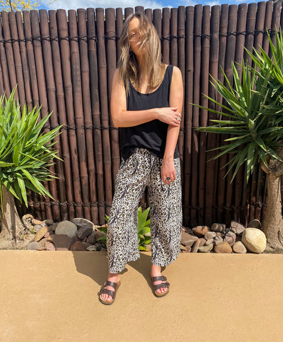 Malibu Culottes - Rayon - bambu road - linen clothing - comfortable chic - lifestyle collection - australian resort wear - australian brand clothing - coastal fashion