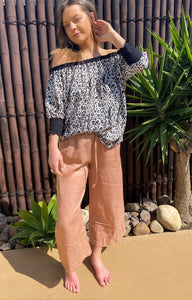 Lola Off The Shoulder - Linen - bambu road