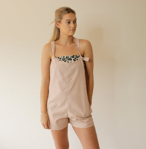 Old Billie Overalls - bambu road - linen clothing - comfortable chic - lifestyle collection - australian resort wear - australian brand clothing - coastal fashion