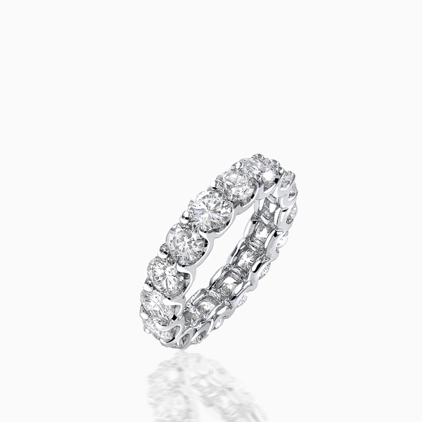 Monumental Diamond Eternity Band
