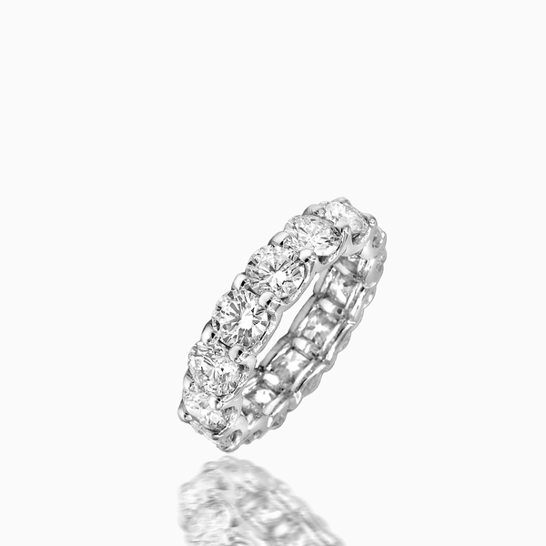 Marvelous Diamond Eternity Band