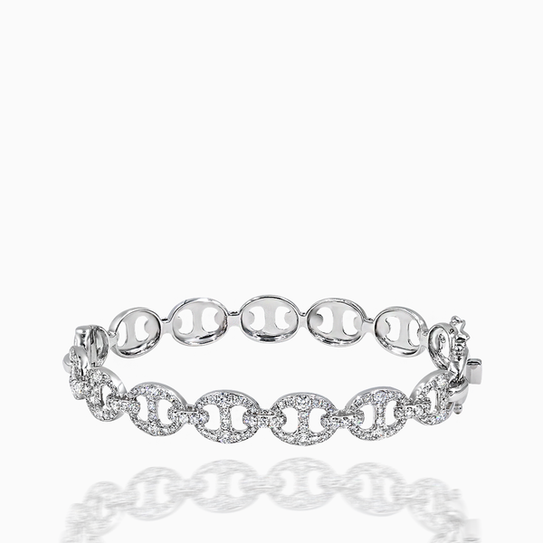 Diamond Chain Bangle